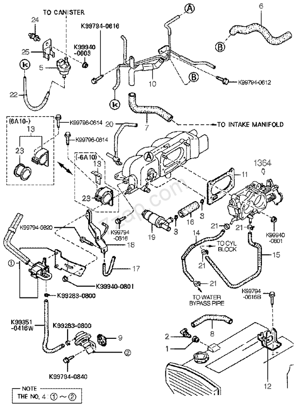 Wiring Diagram 0614 Actuator