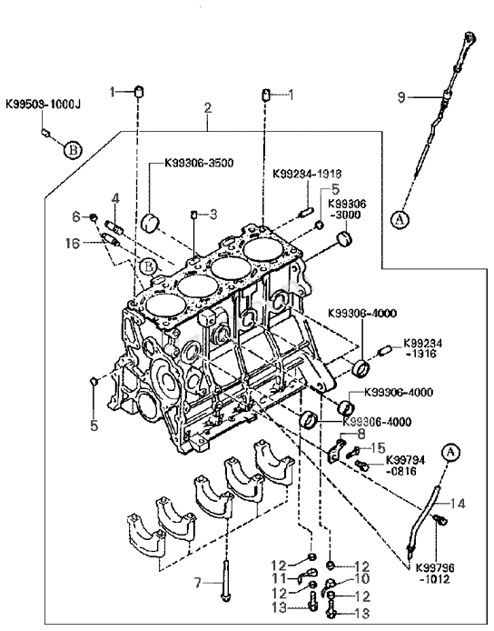 1997 kia sportage headlight wiring diagram
