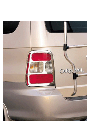 CHROME ACCENT - TAIL LAMP KIA CARNIVAL 99 (1999-2005) [호주]
