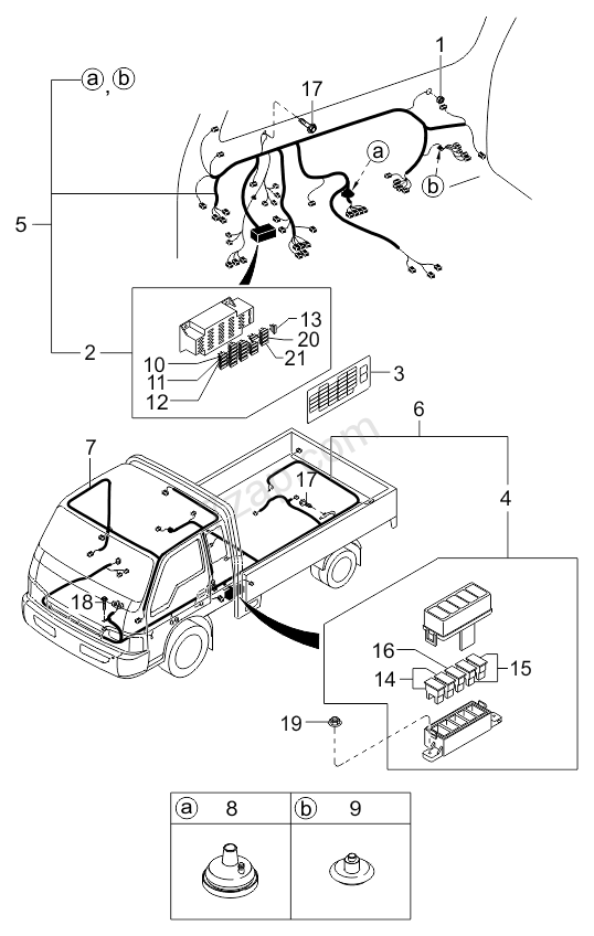 2001 kia sportage electrical schematic