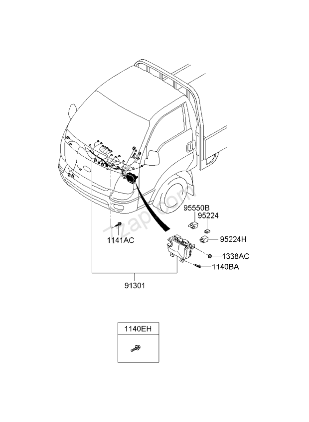 instrument wiring kia k2700/k2900 04: nov.2006- (2006-2011 ... kia k2700 wiring kia sorento wiring diagram download