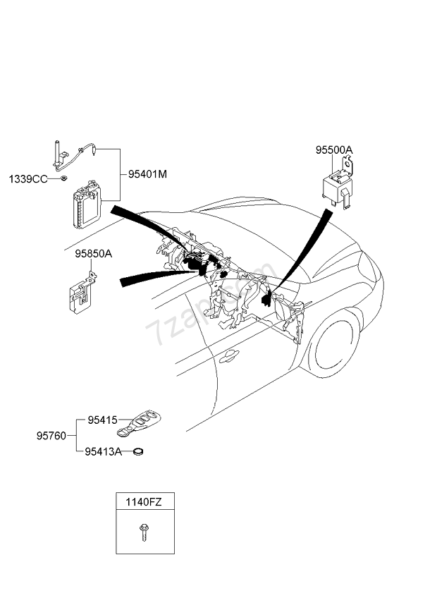 Toyota Venza Fuel Pump Wiring Harness Diagram