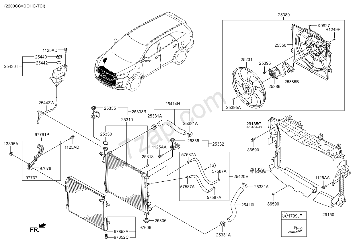 Engine Cooling System (01 03) Kia Sorento 15 (2014 ) [general] Engine Cooling Design 2002 Jaguar Cooling System Diagram On Engine Cooling System (01 03) Kia Sorento 15 (2014 )