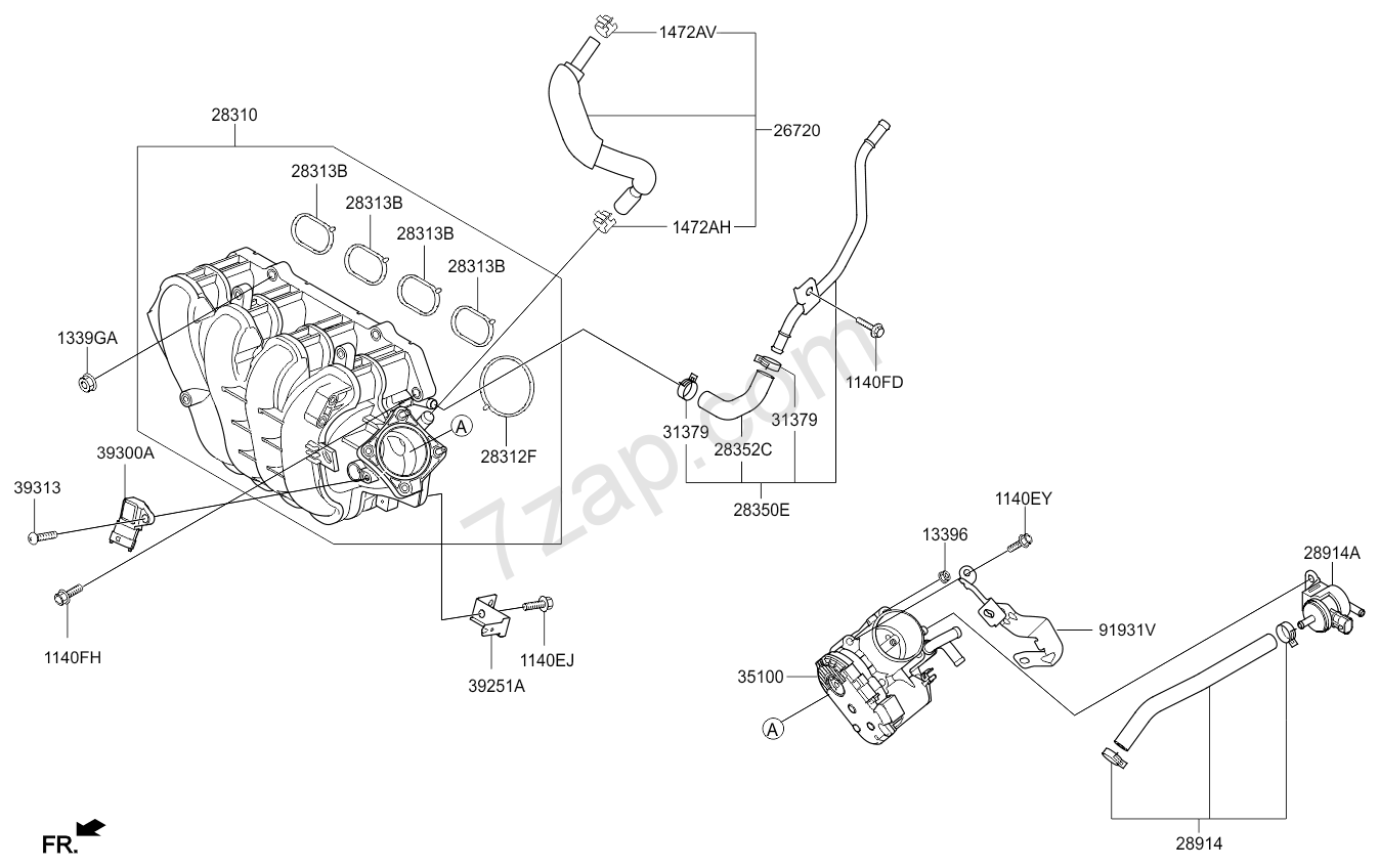Kia Rio Engine Diagram Intake Wiring Library Manifold 15 2014