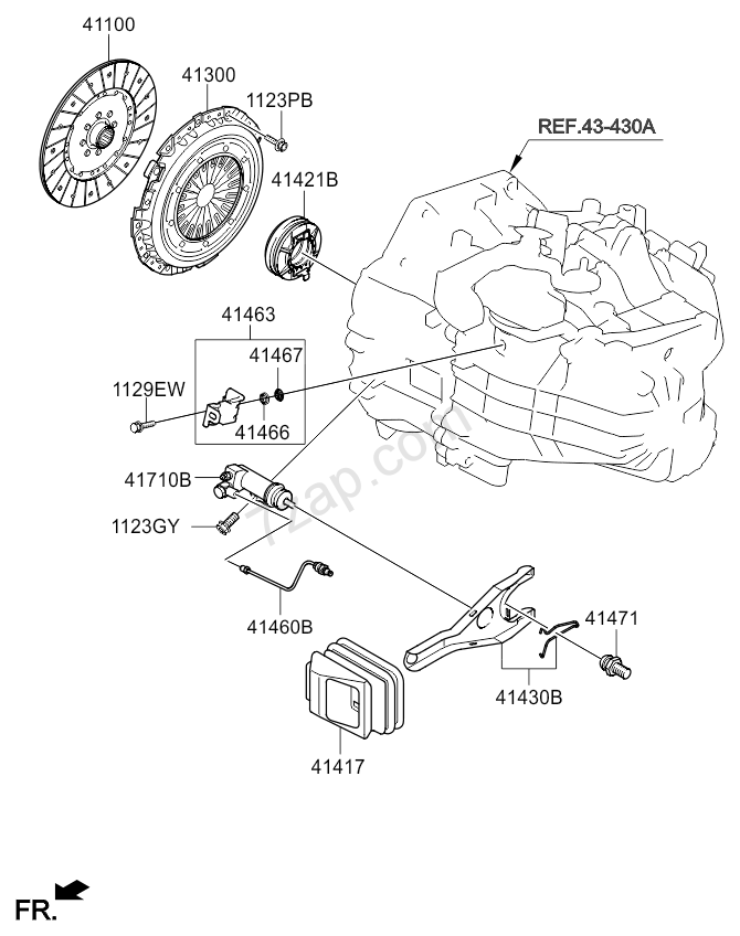 Kia Optima Engine Diagram Clutch