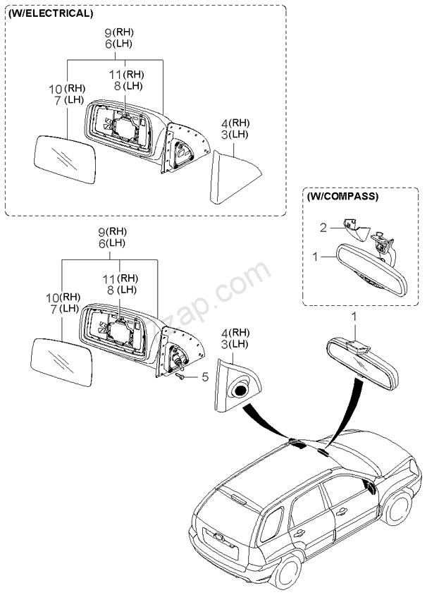 Kia Sportage Electrical Diagram Lighting