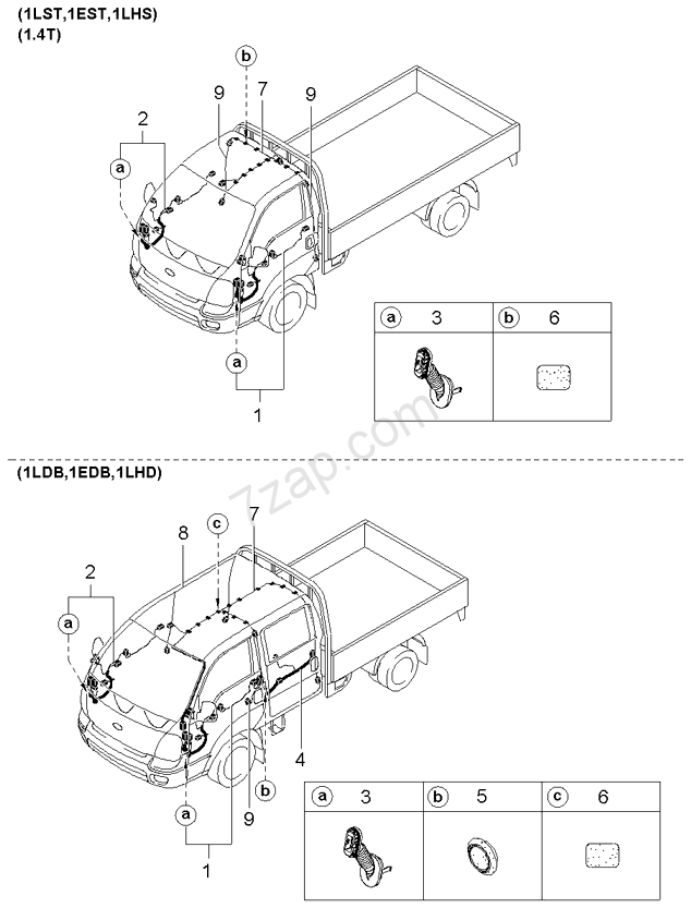Kia K2700 Wiring Diagram