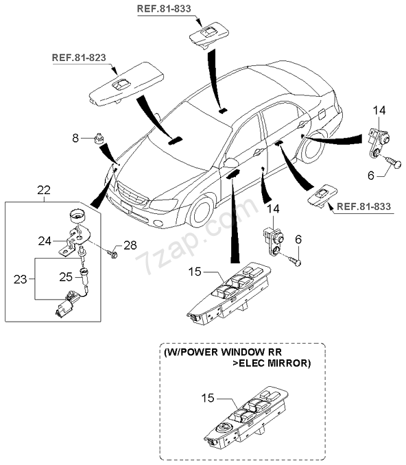 2006 Kia Spectra Transmission Diagram